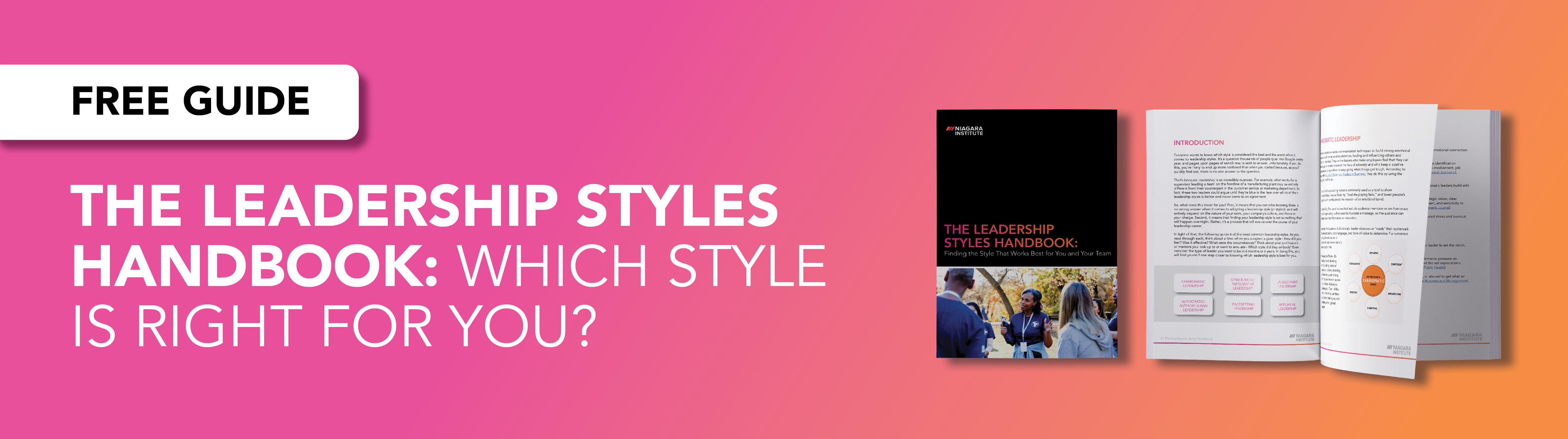 Download the leadership styles handbook