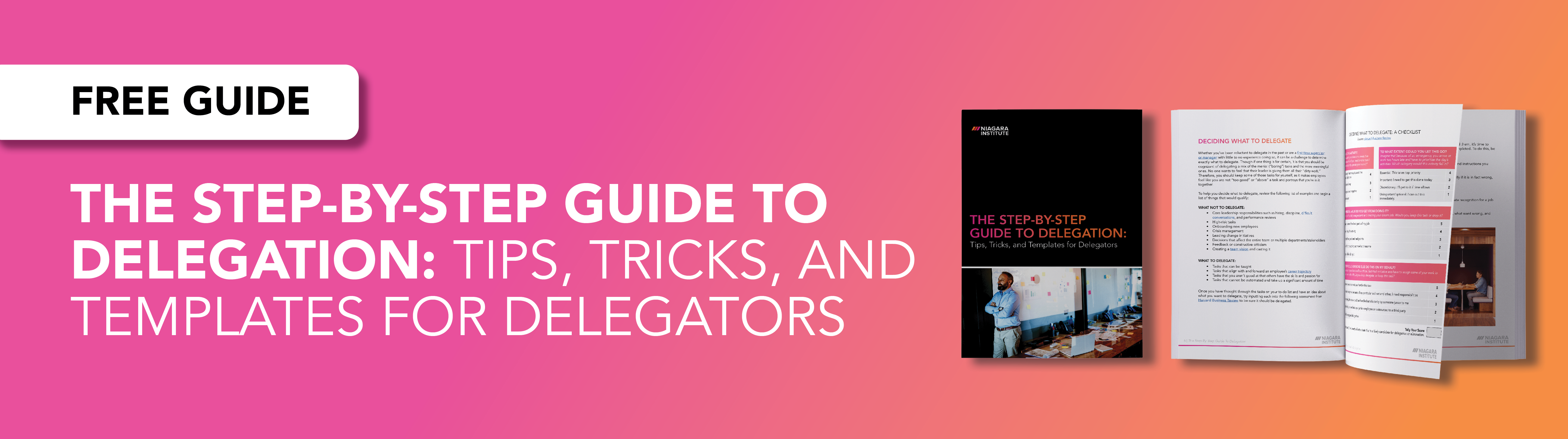 The Guide to Delegation for Leaders