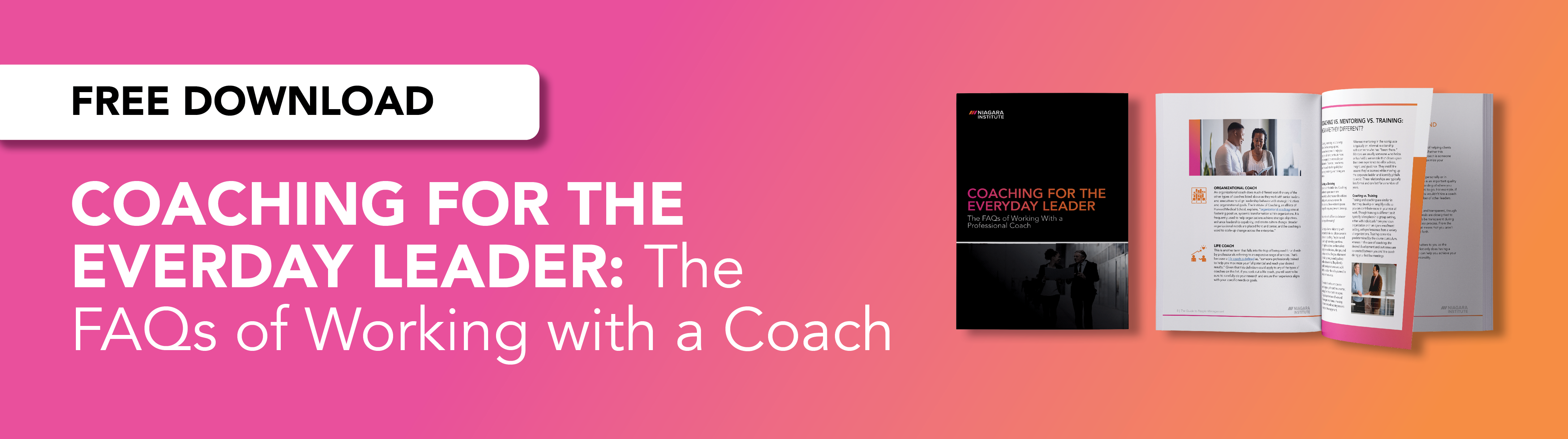 Download the guide to professional leadership coaching