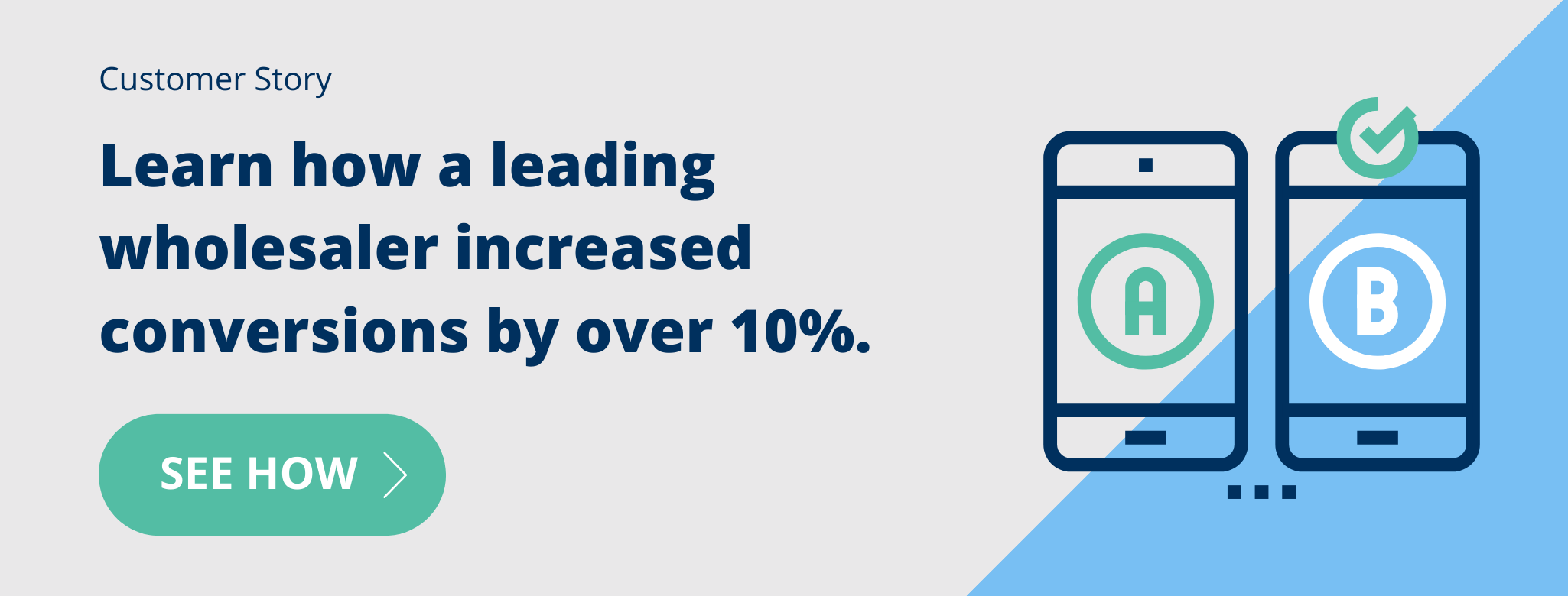 See how a leading wholesaler increased conversions by over 10%.
