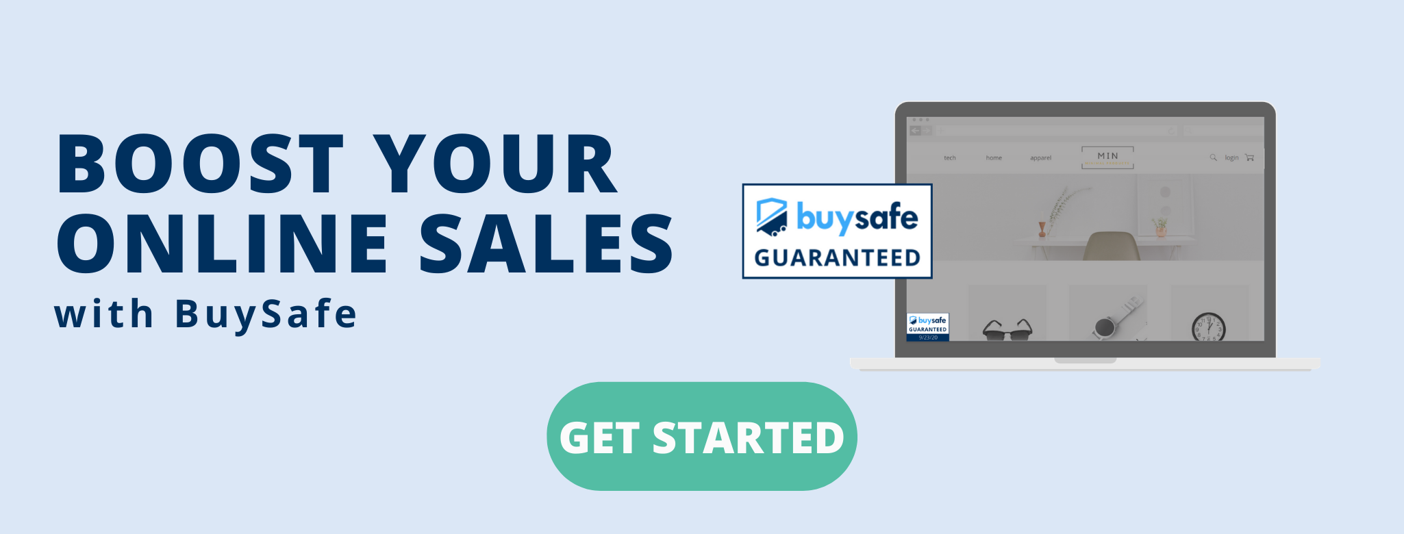 Get started with BuySafe to boost your online sales today