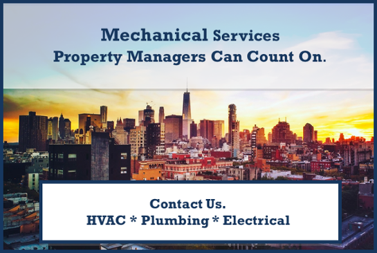 mechanical services for property managers