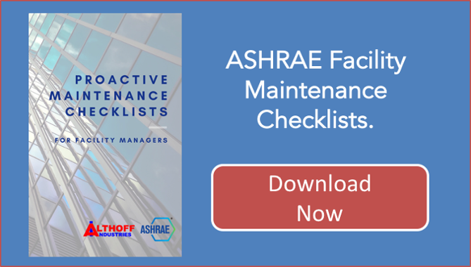 Proactive maintenance checklist call to action