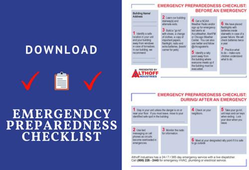 download emergency prepardness checklist