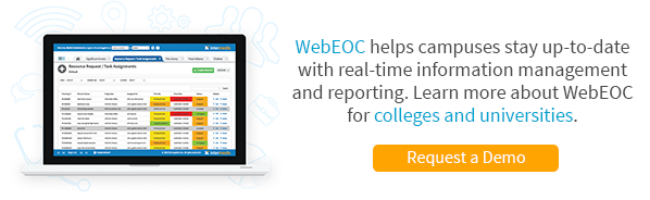 Request a WebEOC Demo