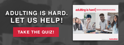 Take the Adulting is Hard Quiz!