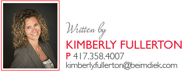 Written by Kimberly Fullerton