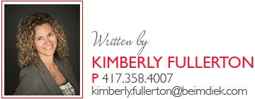 Written by Kimberly Fullerton