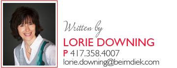 Written by Lorie Downing