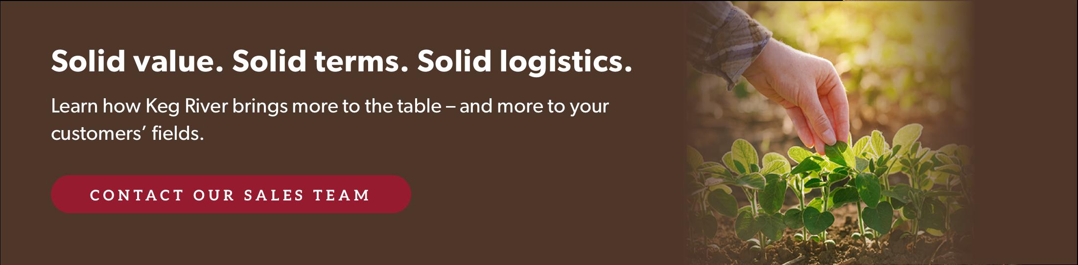 Solid Value Terms Logistics