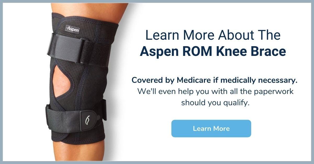 Aspem ROM Knee Brace - Medicare Knee Brace - Elite Medical Supply