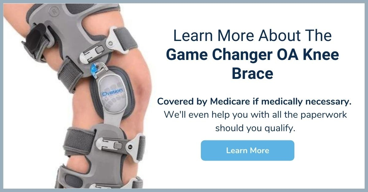 Game Changer OA Knee Brace - Medicare Knee Brace - Elite Medical Supply