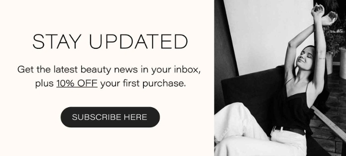 Sign up to our newsletter and get 10% off your first purchase