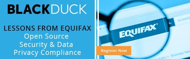 Webinar: Lessons from Equifax: Open Source Security & Data Privacy Compliance