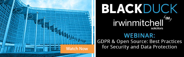 Register Now - Webinar: GDPR and Open Source: Best Practices for Security and Data Protection