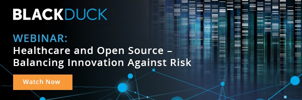 Webinar: Healthcare and Open Source – Balancing Innovation Against Risk