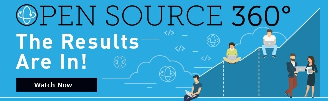 Watch the Open Source 360 Results Webinar