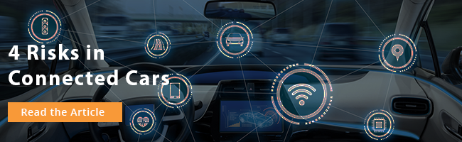 Learn the 4 Risks in Connected Cars