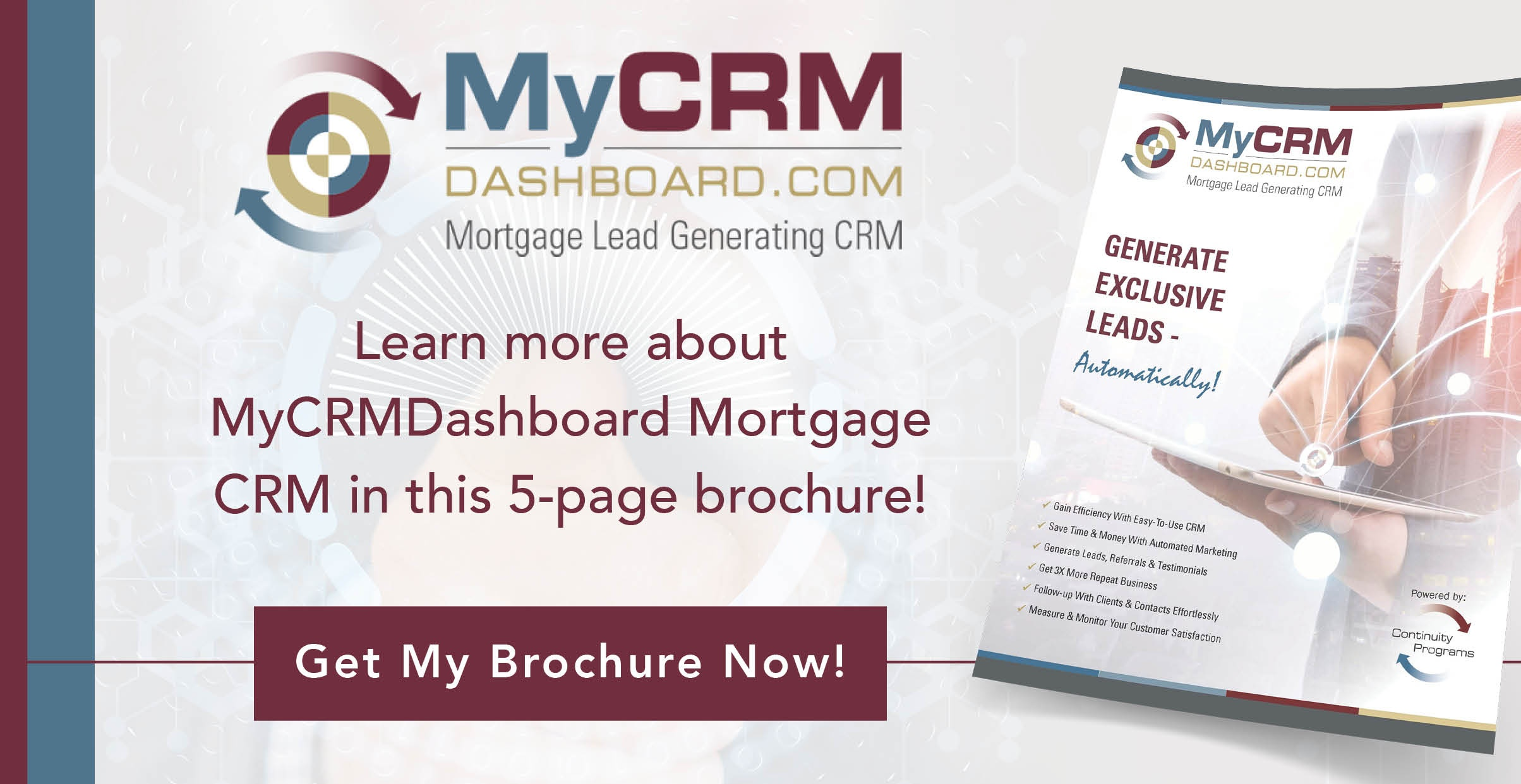 MyCRMDashboard Brochure