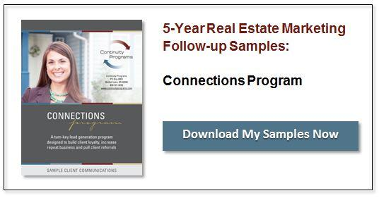 Real Estate Marketing 5-Year Campaign Samples