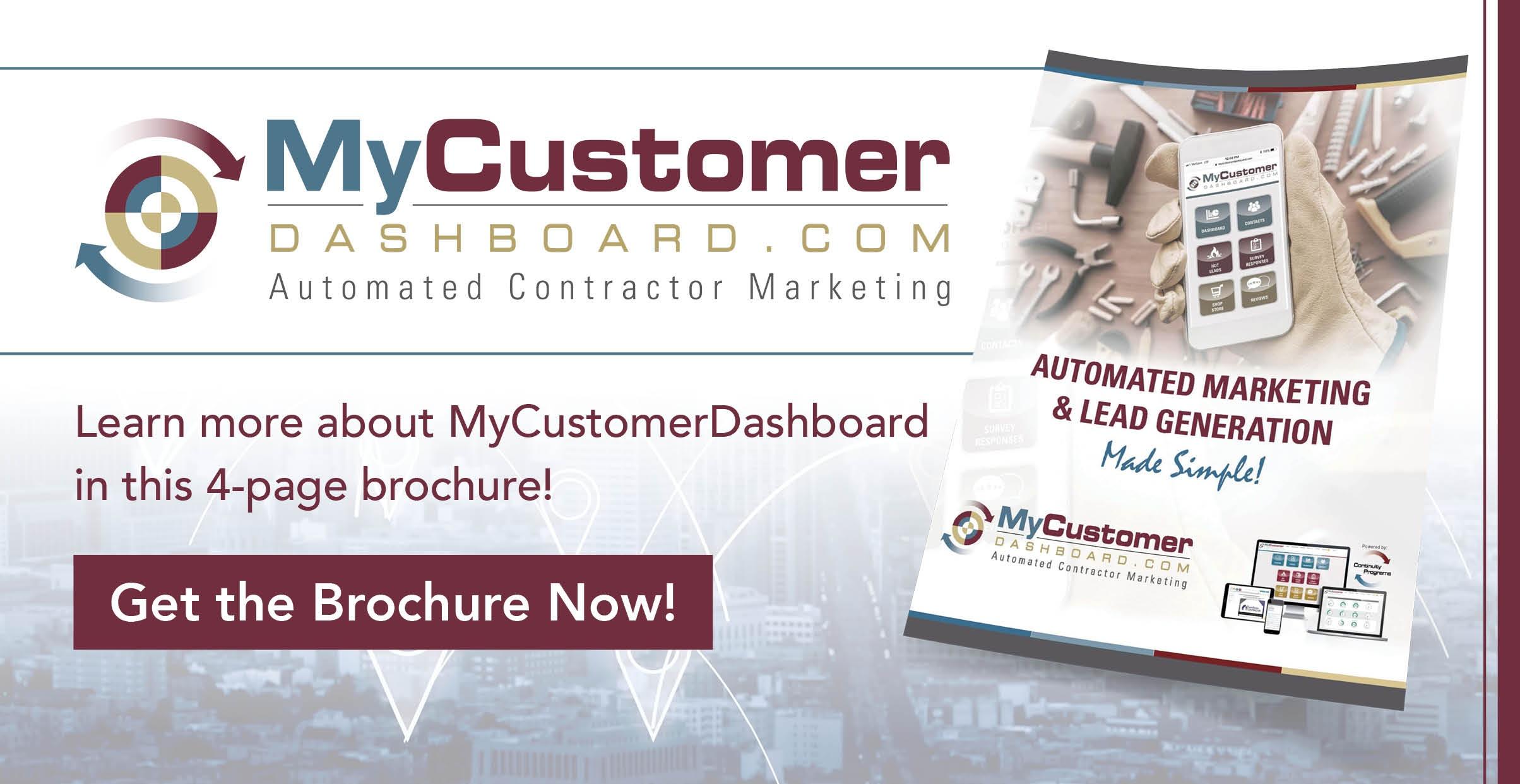 MyCustomerDashboard Brochure