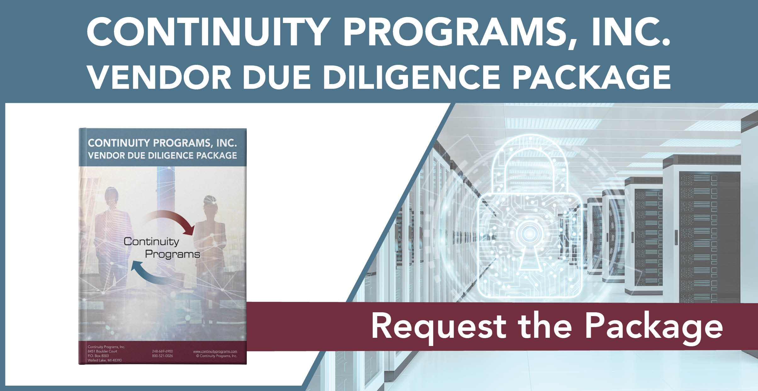 Continuity Programs Vendor Due Diligence Package