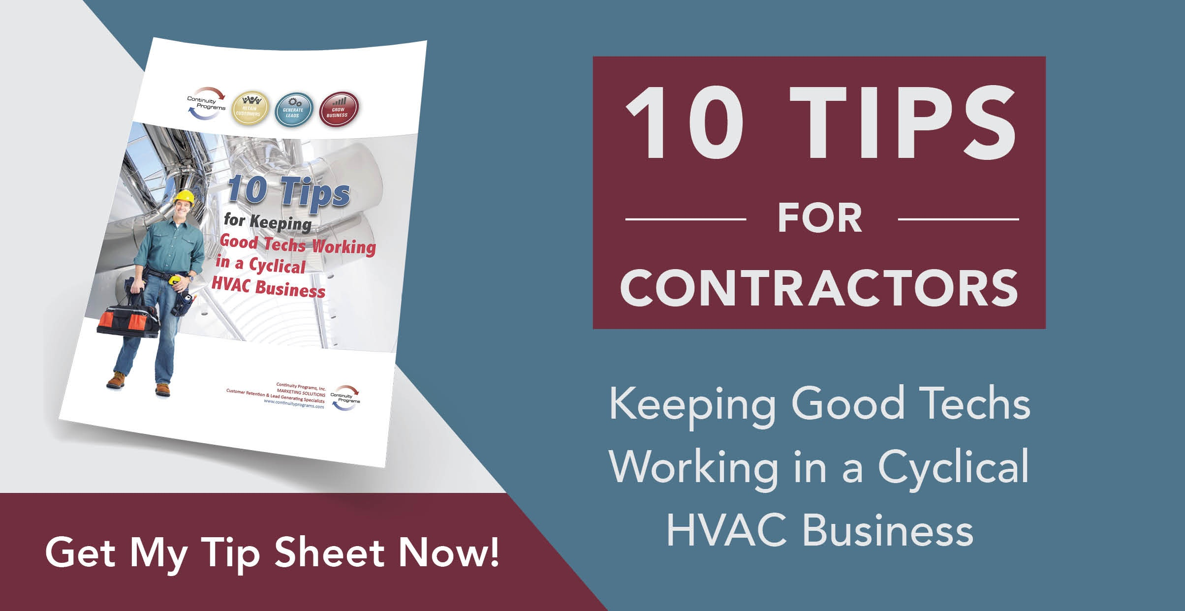 10 Tips For Contractors - Keeping Good Techs Working in a Cyclical HVAC Business