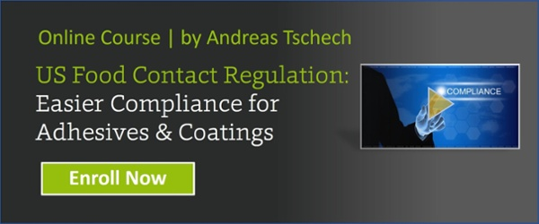 US Food Contact Regulation: Easier Compliance for Adhesives & Coatings