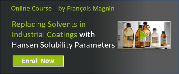 Replacing Solvents in Industrial Coatings with Hansen Solubility Parameters