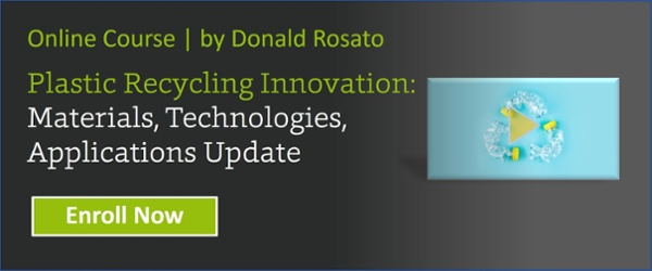 Plastic Recycling Innovation: Materials, Technologies, Applications Update