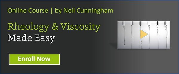 Rheology and viscosity made easy article