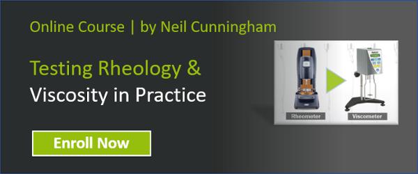 Testing rheology in practice