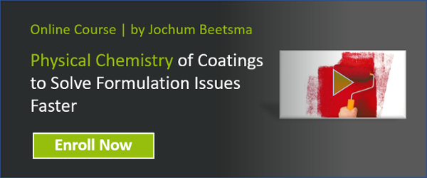 Physical chemistry for coatings