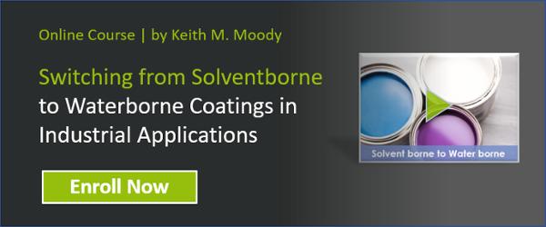 Solventborne to Waterborne Coatings