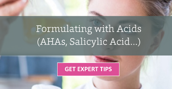 Formulating with Acids
