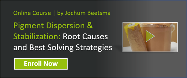 Pigment dispersion & stabilization root causes