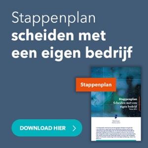 Download hier het stappenplan scheiden met een eigen bedrijf