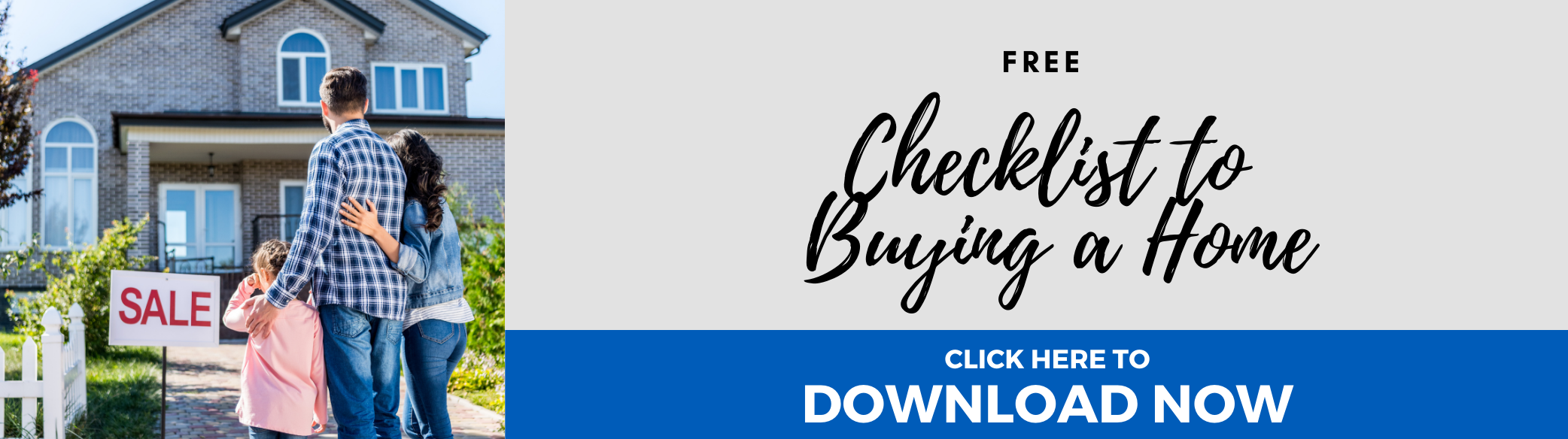 Checklist to Buying a Home