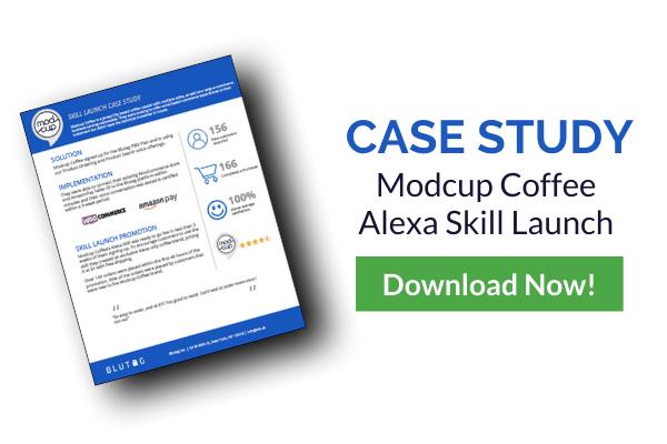 Modcup Coffee Alexa Skill Launch case study