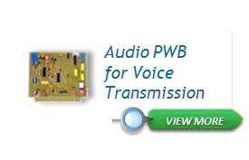 Audio PWB for Voice Transmission