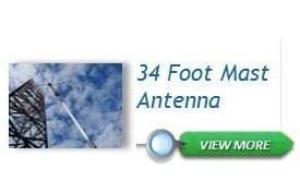 34 Foot Mast Antenna
