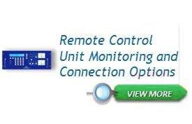 Remote Control Unit Monitoring and Connection Options