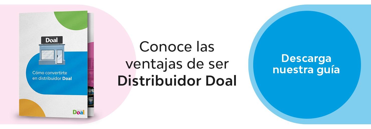 """CTA - Ebook """"Como convertirte en distribuidor Doal"""""""