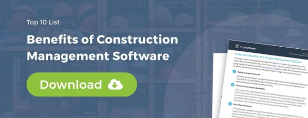 10 Benefits of Construction Project Software