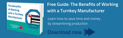 Free Guide: The Benefits of Working with a Turnkey Manufacturer