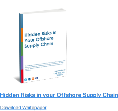 Hidden Risks in your Offshore Supply Chain Download Whitepaper