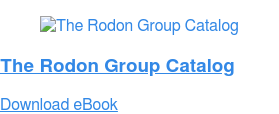 The Rodon Group Catalog Download eBook