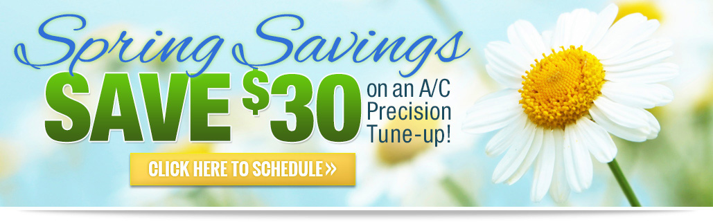Spring Savings for an Ac Tune Up