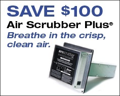 Save $100 on an Air Scrubber Plus
