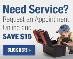 Request Service online from PK Wadsworth